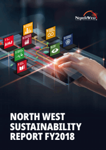 North West Sustainability Report Cover 2018